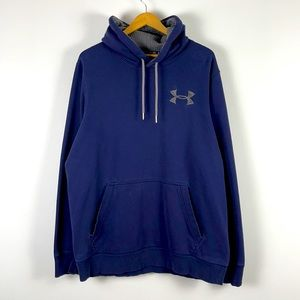 ✨3/$25✨Under Armour Navy Pullover Hoodie